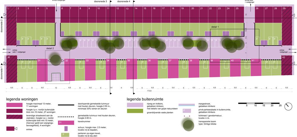 plankaart  stedenbouw IJburg 32